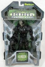 "2002 Art Asylum Star Trek Borg Assimilation Klingon 8"" Figure Sealed"