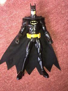 """DC Batman Mattel Large 12"""" Action Figure 2004 Toy"""