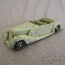 38F Vintage Dinky 38C Lagonda Grigia 1/43 Meccano