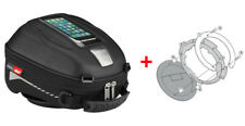 Givi Tanklock Combo Kit - ST602 4 Liter Tank Bag & BF01 Ring Mount Suzuki DL650