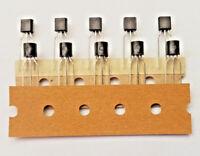 2N4401  QUALITY NPN Bipolar Transistor, 600 mA 40 V 3-Pin TO-92 x10pcs