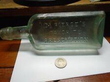 Antique Dr. PIERCE'S FAVORITE PRESCRIPTION - BUFFALO, N.Y. Quack Medicine Bottle