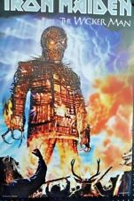 Iron Maiden-The Wicker Man. Vintage Poster 2000. FREE INT.SHIPPING