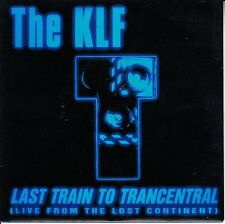 THE KLF  Last Train To Trancentral PICTURE SLEEVE 45 + juke box strip NEW RARE!