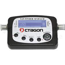 ► Octagon Satfinder SF-28 LCD mit Kompass NEU Satfinder OVP