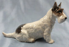foxterrier Terrier Figur Rosenthal Hundefigur hund porzellan schnauzer 1948
