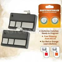 2 For 973LM Liftmaster SEARS Craftsman 3 Button Garage Remote 390mhz 972LM 971LM