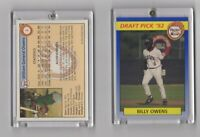 1992 Front Row Billy Owens Draft Pick Card #2 Mint