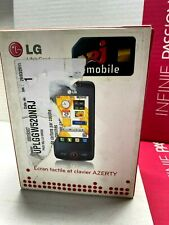 LG GW520 Mobile Phone Old Stock Rare Collectors Mobile Phone Cell Gsm