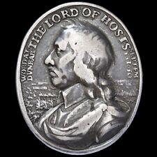 Oliver Cromwell, Bataille de Dunbar. Cast Silver Award Medal, 1650. par T Simon.