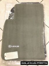 Lexus ES300 (1997-2001) OEM Genuine 4pc CARPET FLOOR MATS (Sage / Gray)