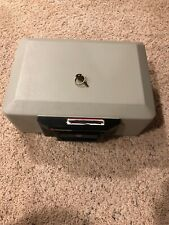 Sentry 1100 Safe Lock Box With Key Home Security Fire Resistant