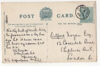 Ilfracombe [B] 24 Apr 1904 Single Ring Postmark Devon 832b