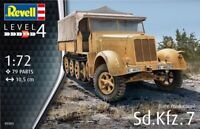 Revell Germany 1:72 SD Kfz 7 Plastic Model Kit 03263