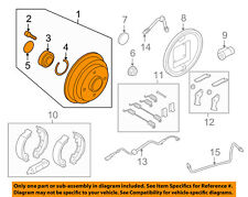 FORD OEM 09-11 Focus Rear Brakes-Brake Drum 9S4Z1113A