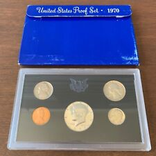 1970-S United States Mint Proof Silver Five Coin Set in OGP  40% Ag