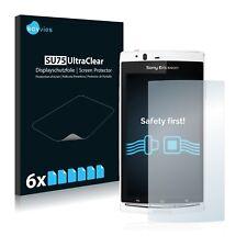 6x Sony Ericsson Xperia Arc S LT18i Displayschutzfolie Klar Transparent
