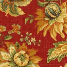 1 Yard Mill Creek Raymond Waites GRANDUCA ROUGE Jacobean Floral Drapery Fabric