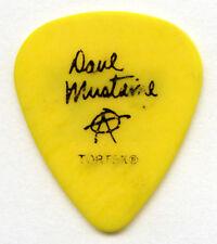 Megadeth Dave Mustaine 2013 Super Collider Tour Guitar Pick Authentic Original