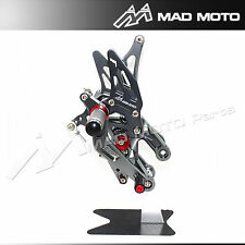 Motorcycle Rearsets For HONDA CBR 600RR 2003 2004 2005  2006  Rearset Foot pegs