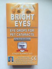 Ethos cataracte collyre pour chiens et animaux original Bright Eyes 1 X BOX = 10 ml