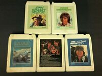 8 track tapes (5) John Denver Greatest Hits 1&2, Windsong, Muppets, Rocky Mounta