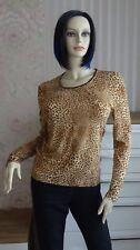 Monella Shirt mit Leodruck hazelnut Gr.L