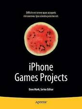 iPhone Games Projects (Books for Professionals by Professionals) by Cabrera, PJ