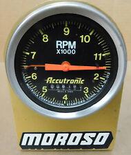 Accutronic Dl 313 Mechanical Tach 11500 Rpm 3 34 Face Telltale Rear Exit