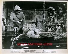 "Susan Hayward Robert Mitchum White Witch Doctor Original 8x10"" Photo #L8343"
