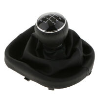 Nice 6 Speed Gear Shift Knob Stick Lever Gaiter Boot PU Cover For VW TOURAN