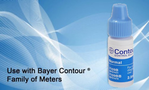 Bayer Contour Control Solution vial, size 2.5ML