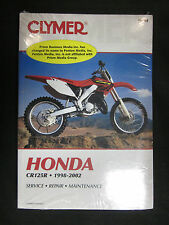 CLYMER M464 HONDA CR125R SERVICE REPAIR AND MAINTENANCE MANUAL