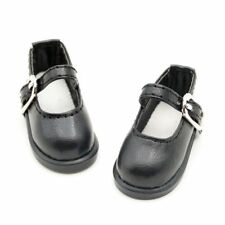 """Black Flats Shoes Synther For 1/6 11"""" 27cm inch tall BJD Doll AOD AS DOD YOSD"""
