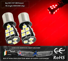 LED SMD BAY15D 1157 380 P21/5W Red Rear Bulbs Tail Lights Car Brake Lamps 12v