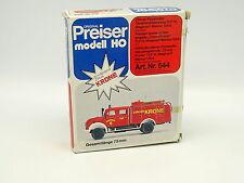 Preiser Kit à monter 1/87 HO - Magirus F Mercur 125A  Pompiers Feuerwehr Krone