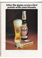Beck's Beer - Magazine Advertisement (1979-1980)