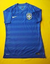 5/5 Brazil player issue jersey medium 2014 2015 away shirt 575277-493 Nike ig93