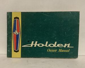 HOLDEN GMH BOOKLET Vintage Owner Manual Handbook HR PREMIER