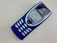 Nokia 8210 Blau Ohne Simlock Refurbished Handy-GSM Klassische freies Verschiffen