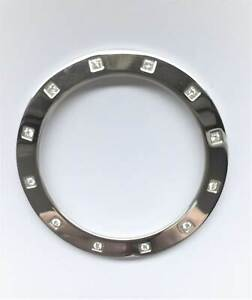 Original Pandora Lünette Bezel mit 12 Diamanten Imagine Grand/C Uhr - 871002 Neu
