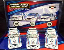 TEAM LANCIA BETA - Team 3 Martini LE MANS 1981 Ref: TEAM01a-96001a FLY