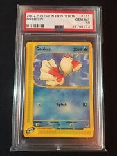 Pokemon 2002 Expedition Goldeen PSA GEM MINT 10 EXTREMELY RARE!