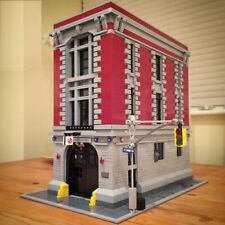 16001 4705Pcs Ghostbusters Firehouse Headquarters Brinquedos Blocks 75827