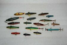17 ASSORTED VINTAGE DEVON MINNOW SPINNER LURES MOSTLY FLOATERS