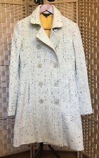 71f54b22920a42 Paul Smith Black Label Tweed Wool Blend Gray Print Coat Size 40
