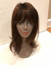 "IMAN GORGEOUS LOCKS COLLECTION -""STUNNING STRAIGHT"" LONG WIG- AUBURN RED"