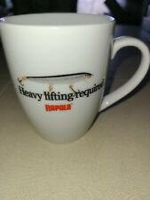 Rapala Fishing Lure Heavy Lifting Required Ceramic Coffee Mug