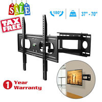 Full Motion TV Wall Mount Bracket 37 40 42 46 50 52 55 60 65 70inch LED LCD Flat