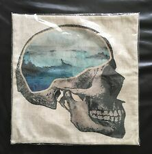 Blue Skull Cushion Cover Fits 46x46cm Insert Brand New Free Shipping